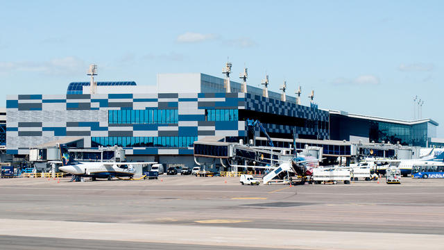A view from Porto Alegre Salgado Filho International Airport