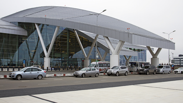 A view from Rostov-on-Don Platov International Airport