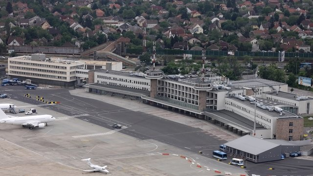 A view from Budapest Ferenc Liszt International Airport