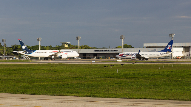 A view from Fortaleza Pinto Martins International Airport