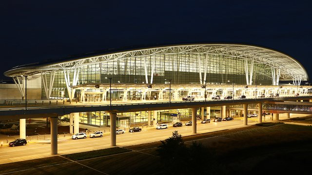 A view from Indianapolis International Airport