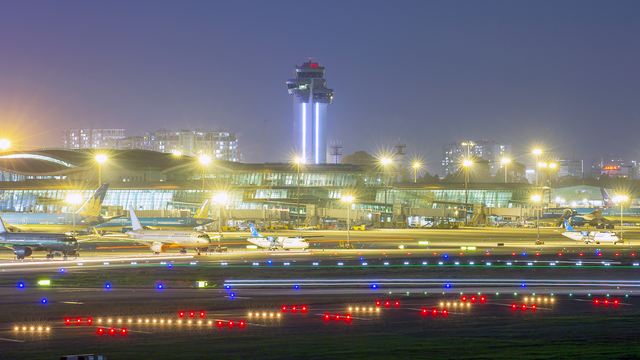 A view from Ho Chi Minh City International Airport