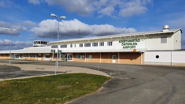 A view from Kristianstad Osterlen Airport