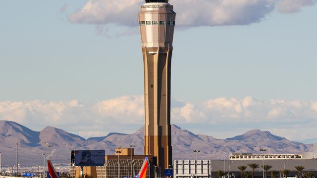 A view from Las Vegas McCarran International Airport