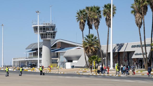 A view from Windhoek Hosea Kutako International Airport