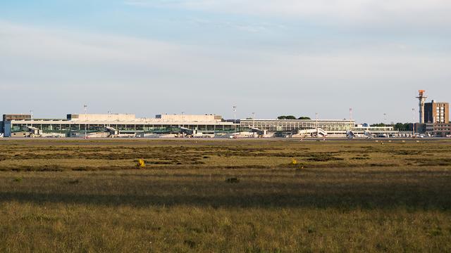 A view from Munster Osnabruck International Airport