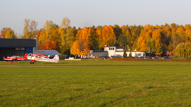 A view from Czestochowa Rudniki Airport