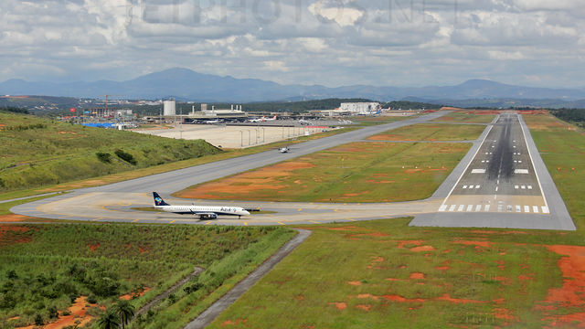 A view from Belo Horizonte Tancredo Neves International Airport