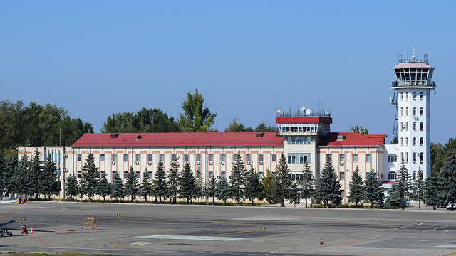 A view from Chisinau International Airport