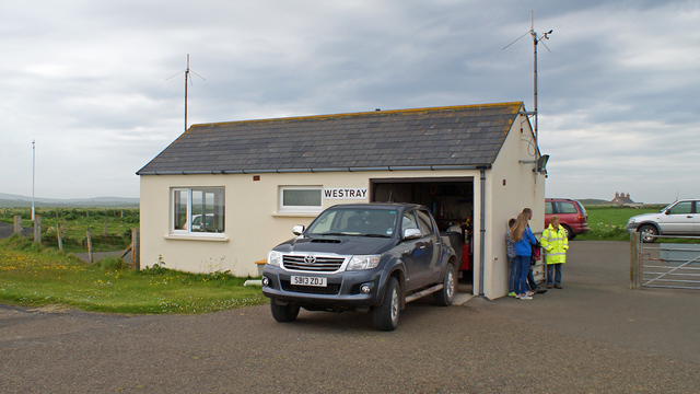 A view from Westray Airport