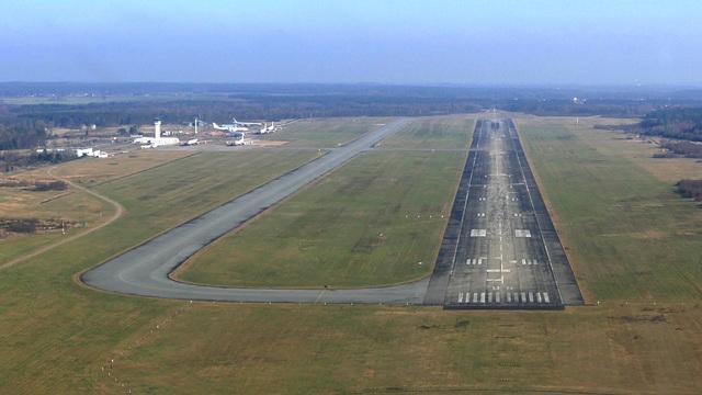 A view from Schwerin Parchim International Airport