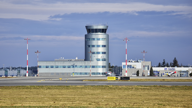 A view from Rzeszow Jasionka Airport