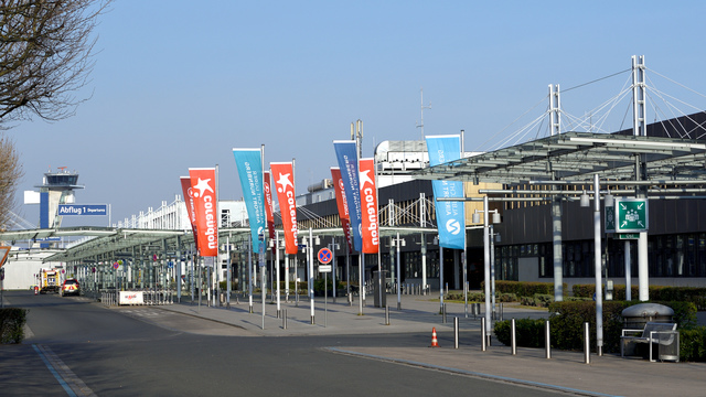 A view from Nuremberg Airport
