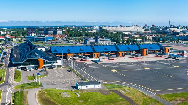 A view from Tallinn Lennart Meri Airport