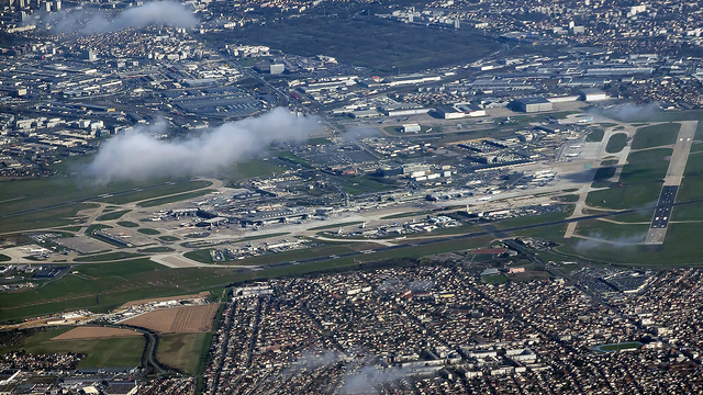 A view from Paris Orly Airport