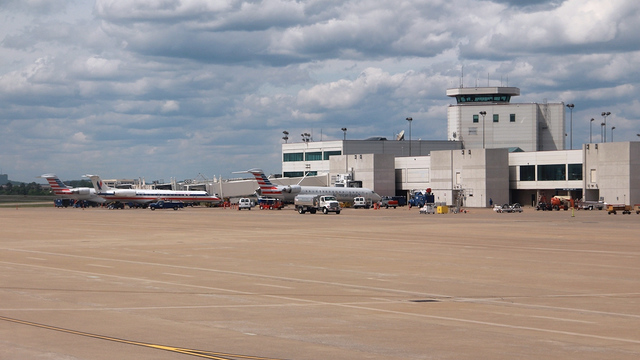 A view from Nashville International Airport