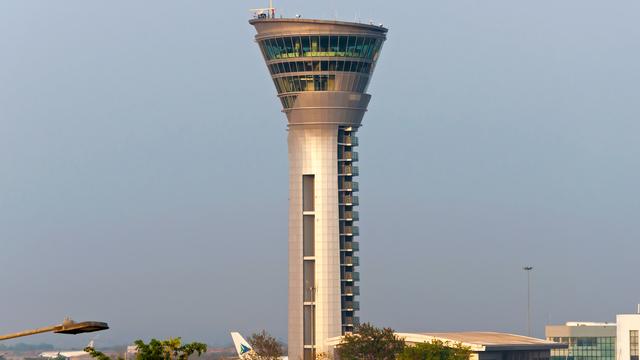 A view from Hyderabad Rajiv Gandhi International Airport