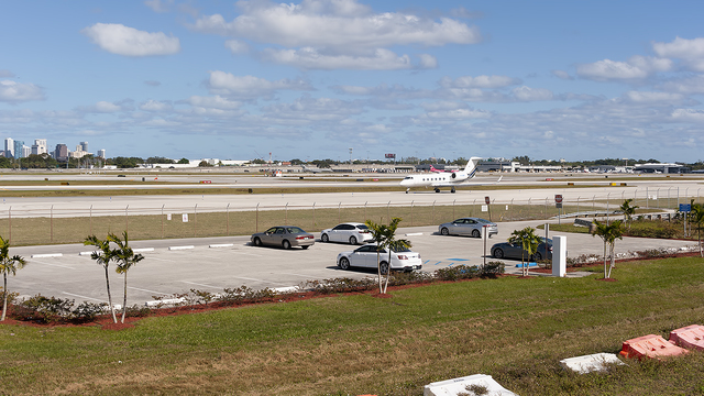 A view from Fort Lauderdale Hollywood International Airport