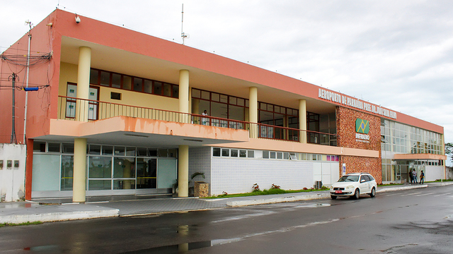 A view from Parnaiba International Airport