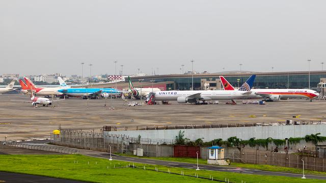 A view from Mumbai Chhatrapati Shivaji International Airport