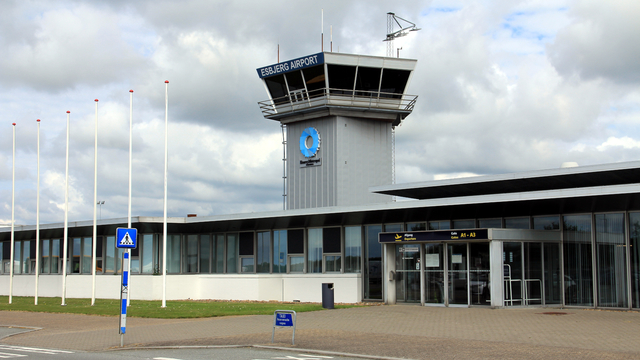A view from Esbjerg Airport