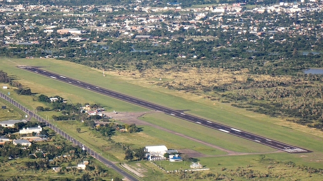 A view from Formosa International Airport