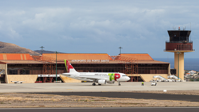A view from Porto Santo Airport