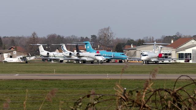 A view from St. Gallen Altenrhein Airport