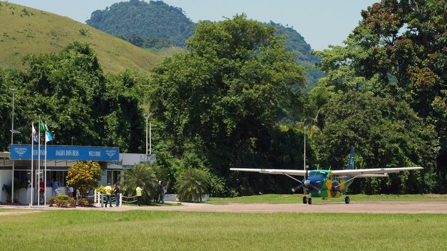 A view from Angra dos Reis Airport