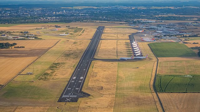 A view from Chateauroux Centre Marcel Dassault Airport