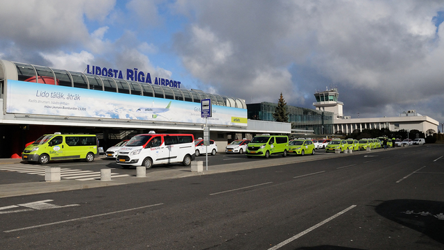 A view from Riga International Airport