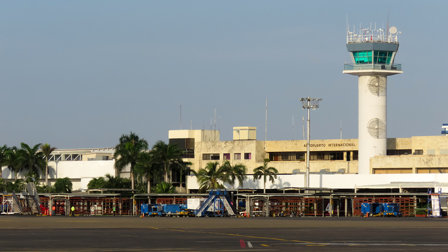 A view from Cartagena Rafael Nunez International Airport