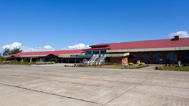 A view from Laoag City International Airport
