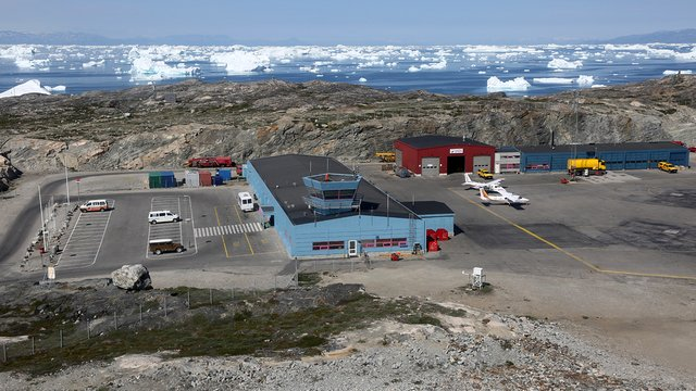 A view from Ilulissat Airport