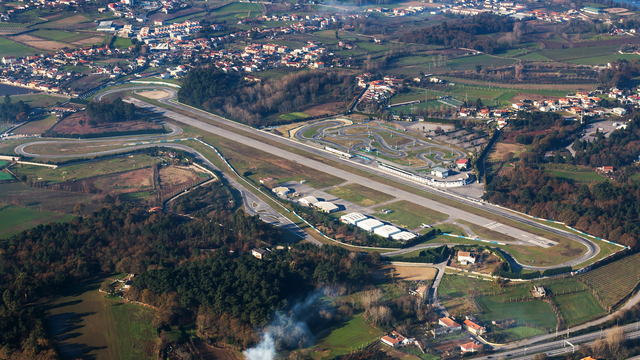 A view from Braga Airport