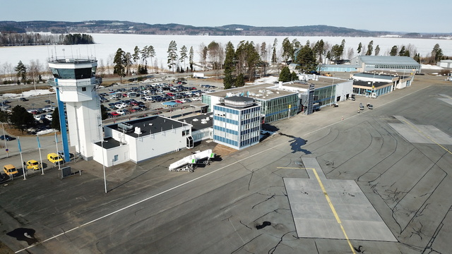 A view from Kuopio Airport