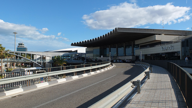 A view from Valencia Airport