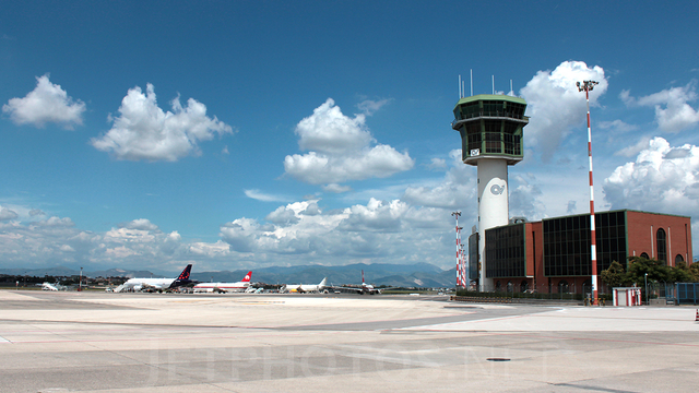 A view from Naples Airport