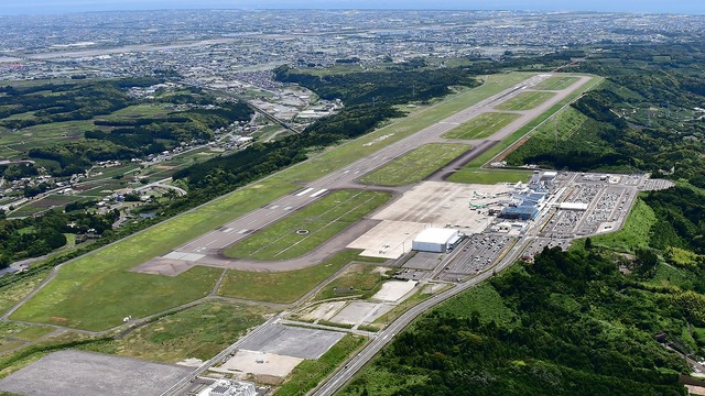 A view from Shizuoka Airport