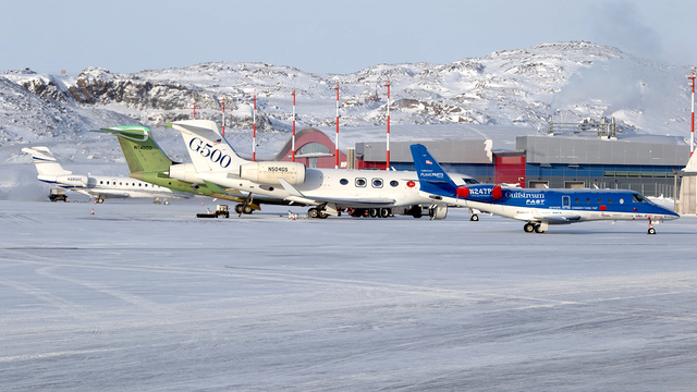A view from Iqaluit Airport
