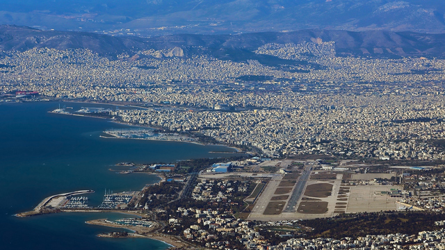 A view from Athen Helenikon Airport