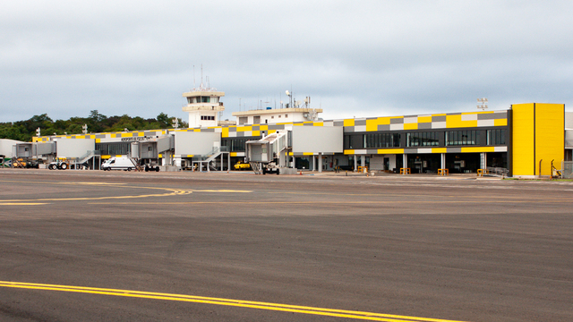 A view from Foz do Iguacu International Airport