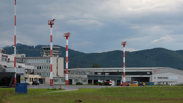 A view from Poprad Tatry Airport