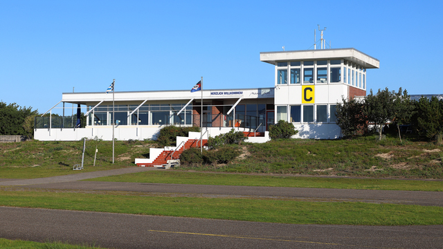A view from Norderney Airport