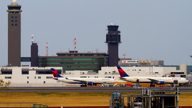 A view from Tokyo Narita International Airport
