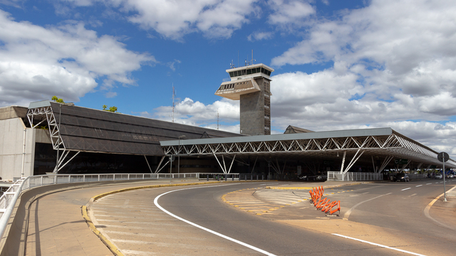 A view from Brasilia International Airport