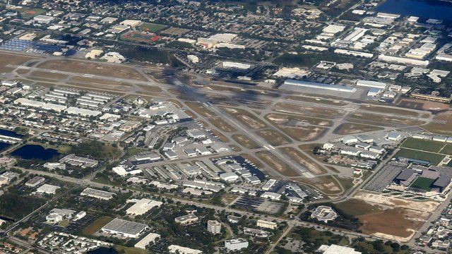 A view from Fort Lauderdale Executive Airport