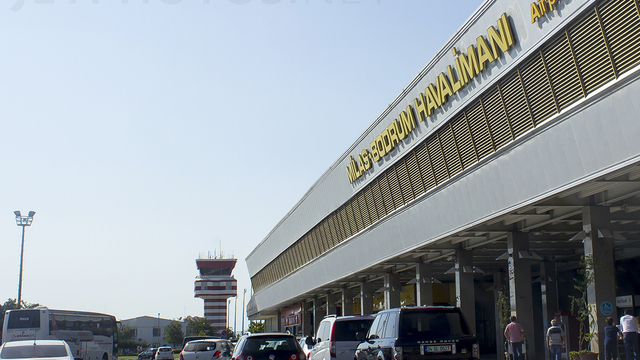 A view from Bodrum Milas Airport
