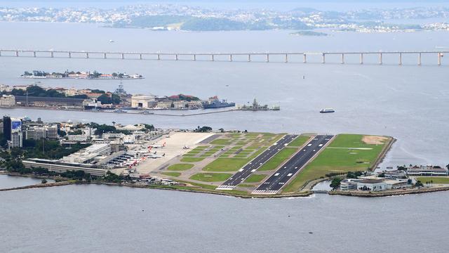 A view from Rio de Janeiro Santos Dumont
