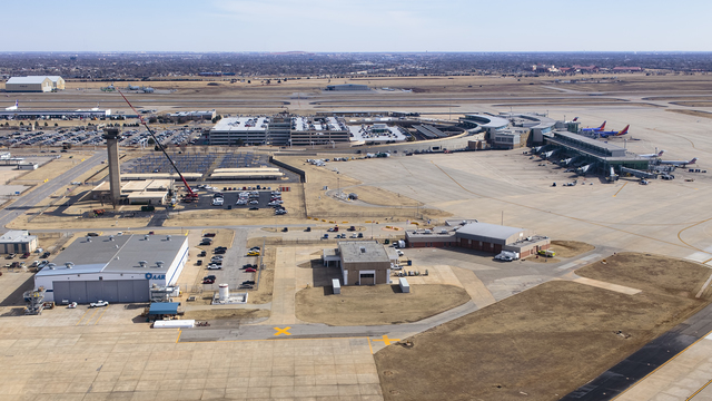 A view from Oklahoma City Will Rogers World Airport